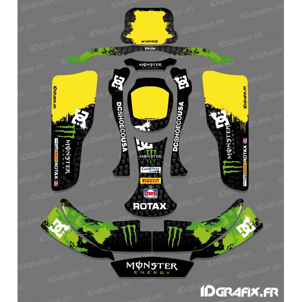 kit d co 100 personnalis monster pour karting crg rotax 125. Black Bedroom Furniture Sets. Home Design Ideas