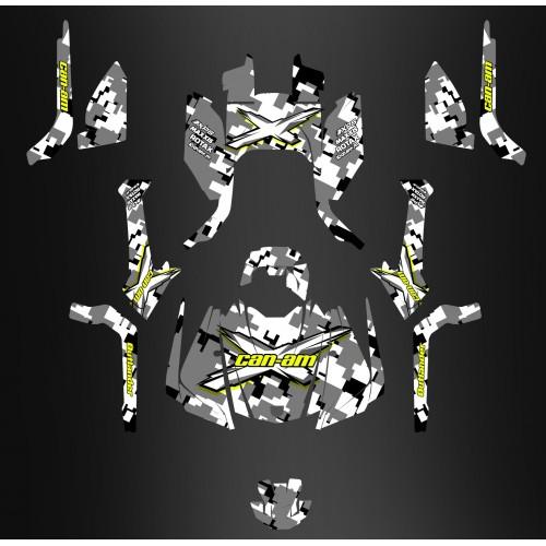 Kit décoration Digital Camo Full Edition - IDgrafix - Can Am Outlander G2