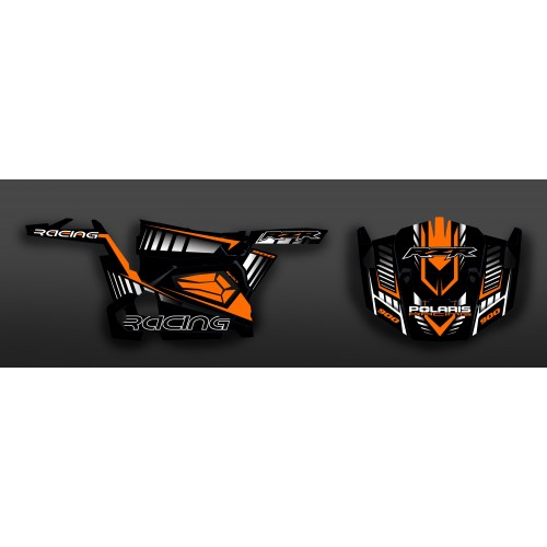 photo du kit décoration - Kit décoration Race Edition (Orange) - IDgrafix - Polaris RZR 900