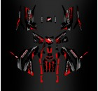 Kit décoration Monster Red Edition (Full) - IDgrafix - Polaris 850/1000 Scrambler
