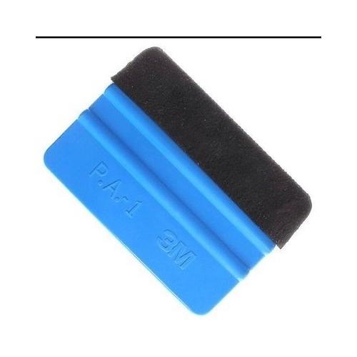 photo du kit décoration - Raclette 3M spécial pose sticker (avec feutrine anti-rayure)