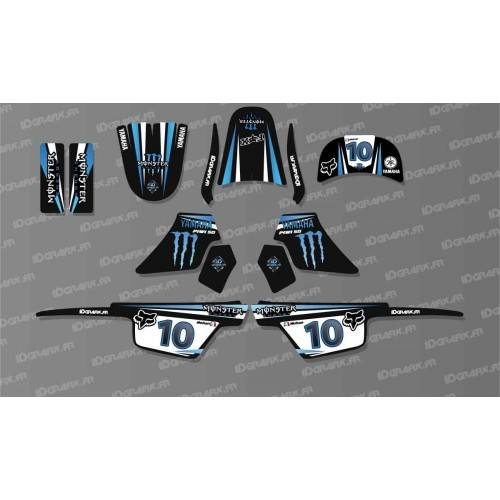 photo du kit décoration - Kit déco 100 % Personnalisé pour YAMAH Piwi 50 - Nohan