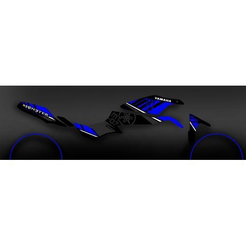 photo du kit décoration - Kit décoration 100% Perso Monster Bleu - IDgrafix - Yamaha MT-07