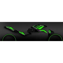 Kit décoration 100% Perso Monster Vert - IDgrafix - Yamaha MT-07