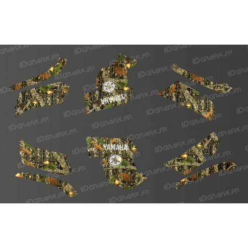 photo du kit décoration - Kit décoration Mossy Oak Series - IDgrafix - Yamaha Grizzly 550-700