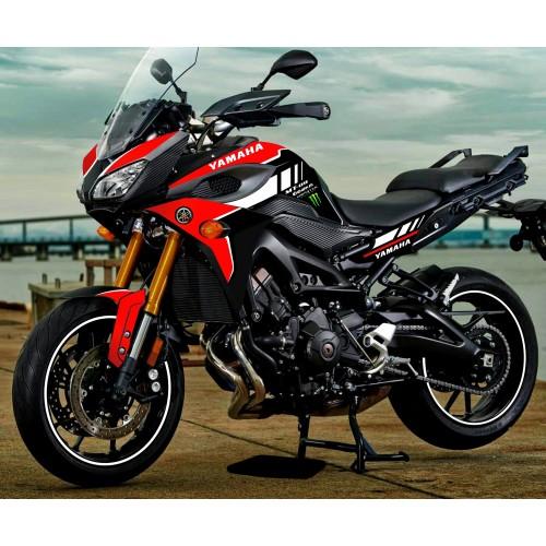 foto kit-dekoration - Kit-dekoration-Red GP edition - Yamaha MT-09 Tracer