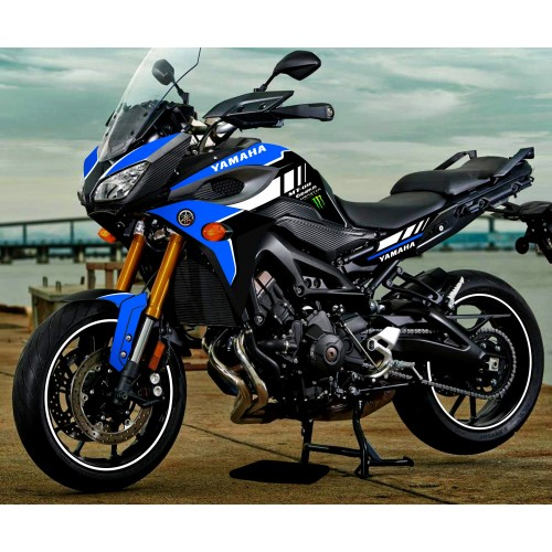 photo du kit décoration - Kit décoration Blue GP edition - Yamaha MT-09 Tracer