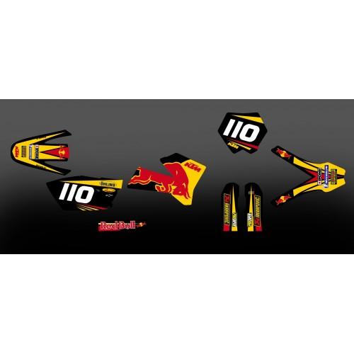 Kit déco pour KTM SX 2005 - M. Bassette