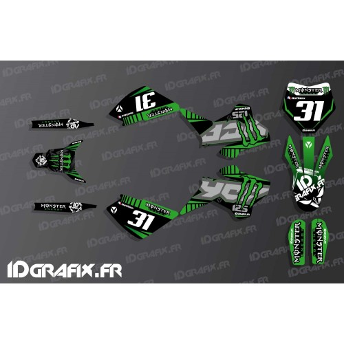 decorazione kit di foto - Kit décoration - IDgrafix - Yamaha YFZ 450 R