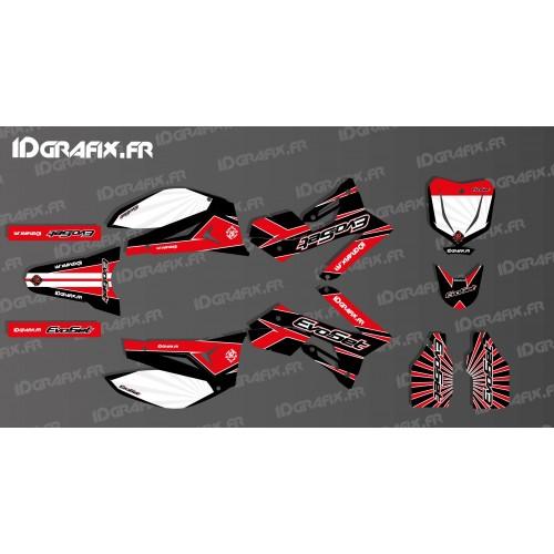 photo du kit décoration - Kit déco 100 % Personnalisé pour Moto EVOSET 125