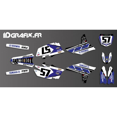 photo du kit décoration - Kit décoration Yamaha 60eme Réplica Edition - Yamaha YZ/YZF 125-250-450