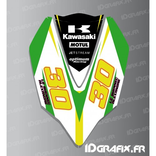photo du kit décoration - Kit décoration Capot AV pour Kawasaki Ultra 300/310R
