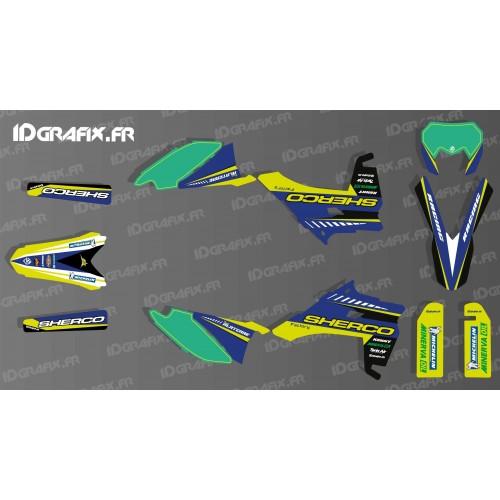 photo du kit décoration - Kit décoration Factory Race Edition - Sherco 250-300-450