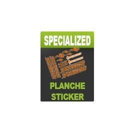 Planche Stickers RockShox - Specialized