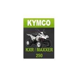 kit d coration pour kymco 250 kxr maxxer. Black Bedroom Furniture Sets. Home Design Ideas