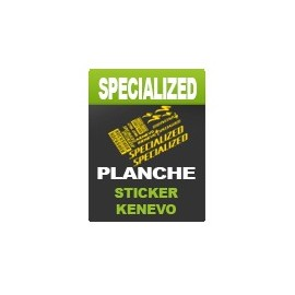 Planche sticker Rockshox Lyrik - Specialized Kenevo
