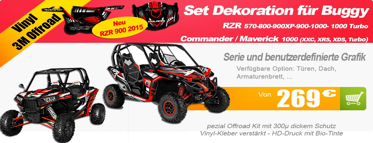 Set Dekoration Buggy