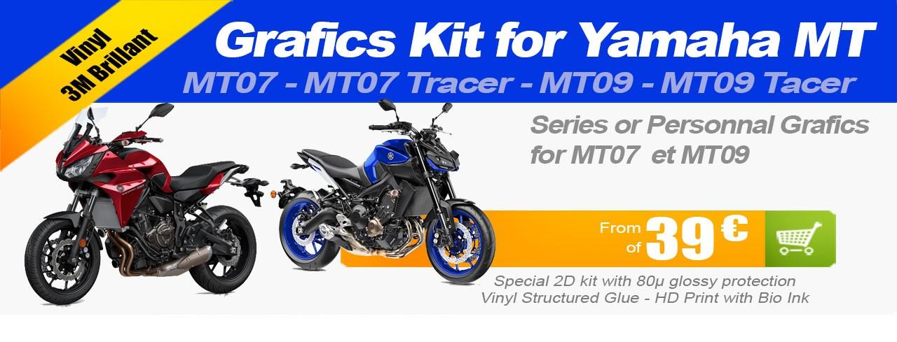 Kit déco Moto Route