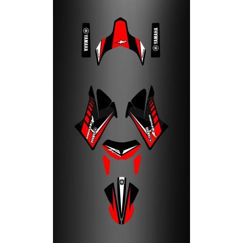 Kit déco 100 % Personnalisé pour Yamaha 660 XT - Alpinestar -idgrafix