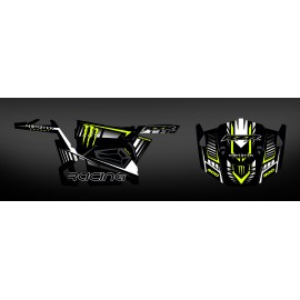 Kit décoration 100% perso Monster Carbon - IDgrafix - Polaris RZR 900