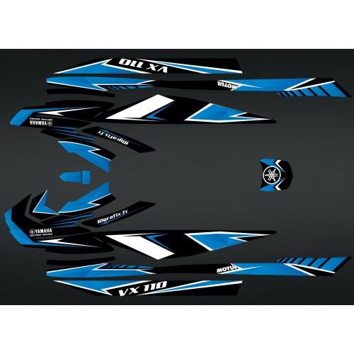 Kit de decoración de Fábrica Edición Azul para Yamaha VX 110 (después de 2015) -idgrafix
