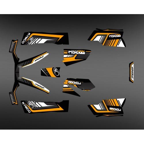 Kit Deco 700exi Limitada-Naranja - Kymco 700 MXU -idgrafix