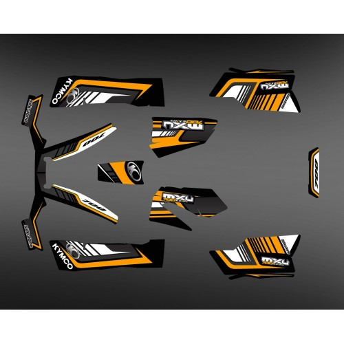 Kit Deco 700exi Limitata-Arancione - Kymco MXU 700 -idgrafix