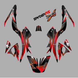 Kit decoration Liner Red - IDgrafix - Can Am Spyder RS