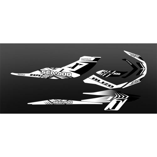 Kit décoration 100% Perso pour Seadoo GTI -idgrafix
