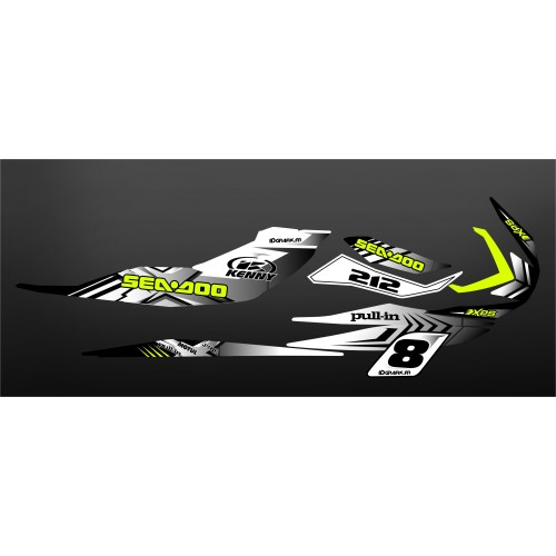 Kit decoration 100% Custom White for Seadoo RXP-X 260 / 300 - IDgrafix