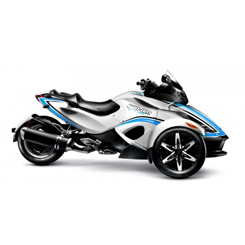 Kit de decoración de la Luz Epsilon Azul - IDgrafix - Can Am Spyder RS