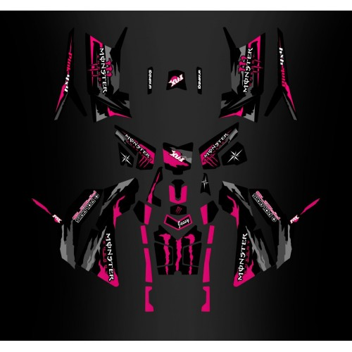 Kit décoration Limited Edition (Full) - IDgrafix - Polaris 850 Scrambler - IDgrafix