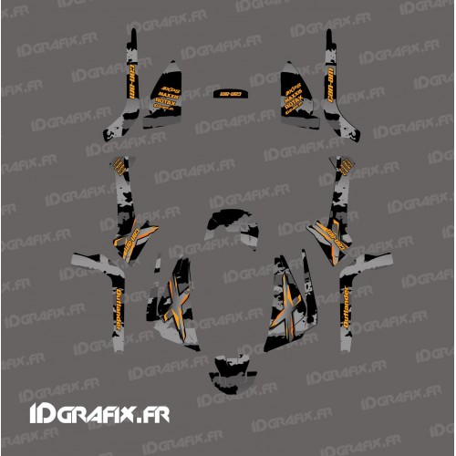 Kit décoration Light Snatch (Gris) - IDgrafix - Can Am 1000 Outlander G2