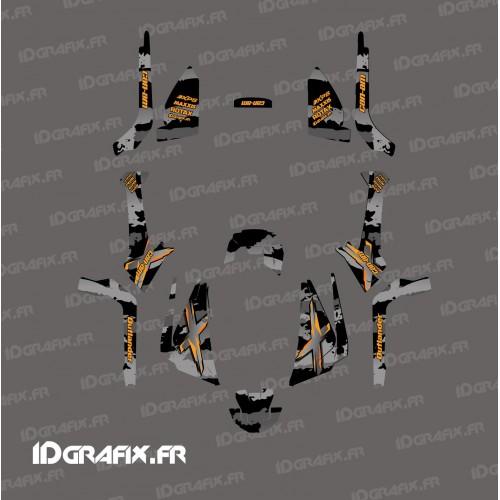 Kit de decoración de Arrebatar la Luz (Gris) - IDgrafix - Can Am Outlander 1000 G2 -idgrafix