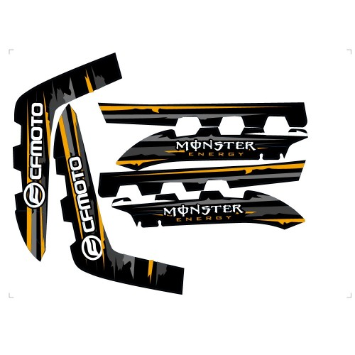 Stickers d'ailes CF MOTO 800