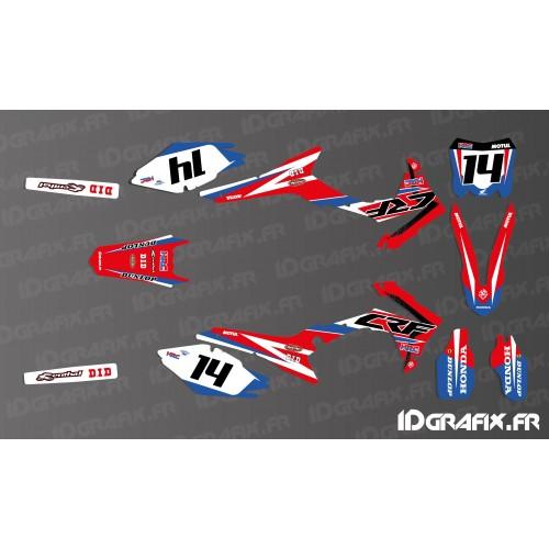 Kit décoration Honda Factory 2018 Réplica - Honda CR/CRF 125-250-450-idgrafix