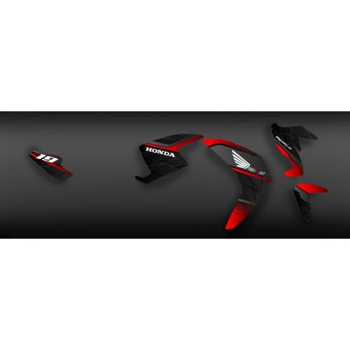 Kit de decoración 100% Personalizada de fábrica de la serie - Honda CB 650 -idgrafix