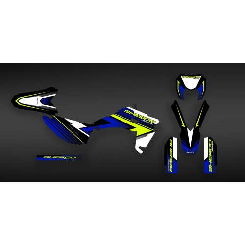 Kit decoration Factory 2017 Edition - Sherco 250-300-450-idgrafix