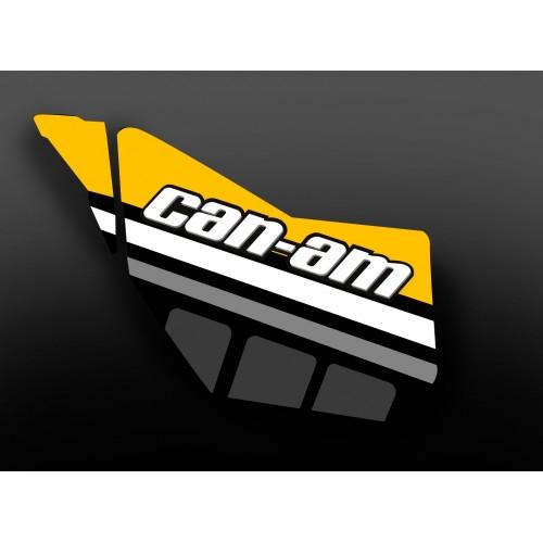 Kit decoration Door Original Race Edition (Yellow) - IDgrafix - Can Am  - IDgrafix