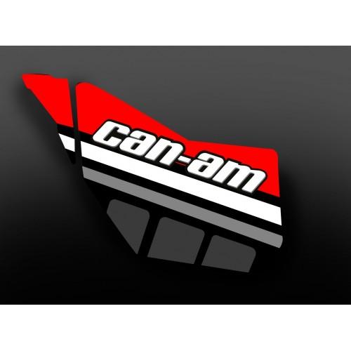 Kit de decoración de la Puerta Original de la Carrera de Edición (Rojo) - IDgrafix - Can Am  -idgrafix
