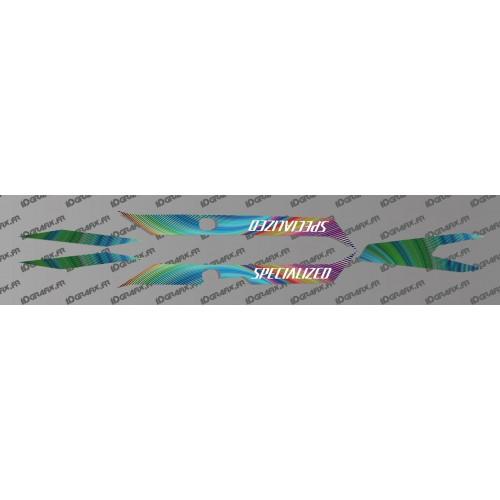Kit deco Edizione Arcobaleno di Luce - Specialized Turbo Levo -idgrafix
