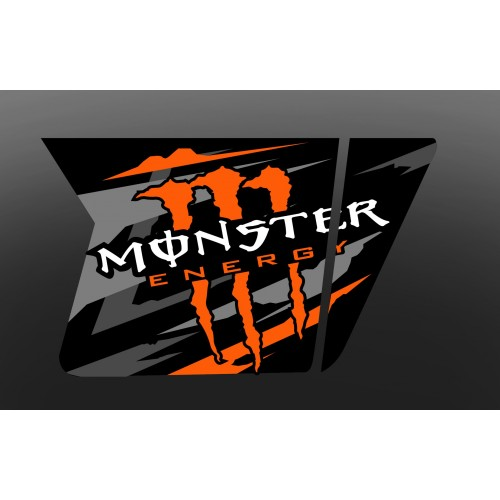 Kit dekor Monster Tür XRW Selbstmord - IDgrafix - Polaris RZR 800/800S -idgrafix
