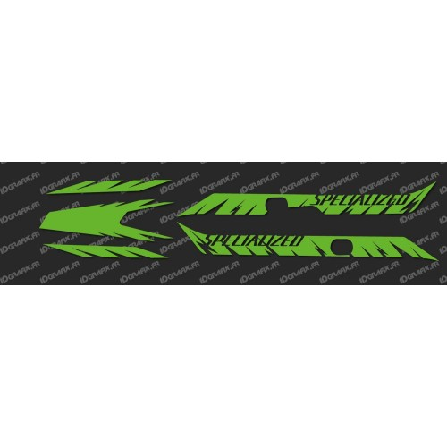 Kit déco Factory Edition Light (Vert FLUO)- Specialized Turbo Levo-idgrafix