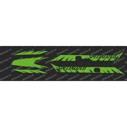 Kit deco Edizione di Fabbrica della Luce (NEON Green)- Specialized Turbo Levo -idgrafix