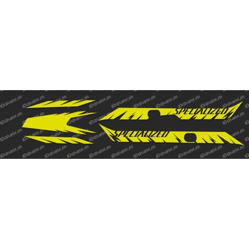 Kit déco Factory Edition Light (Jaune Fluo)- Specialized Turbo Levo-idgrafix