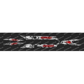 Kit déco CAMO Edition Light (Rouge)- Specialized Turbo Levo
