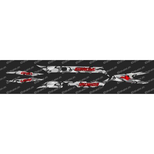 Kit deco CAMO Edició de la Llum (Vermell)- Especialitzada Turbo Levo -idgrafix