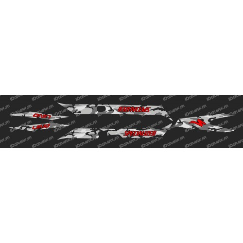 Kit deco CAMO Edition Luce (Rosso)- Specialized Turbo Levo -idgrafix