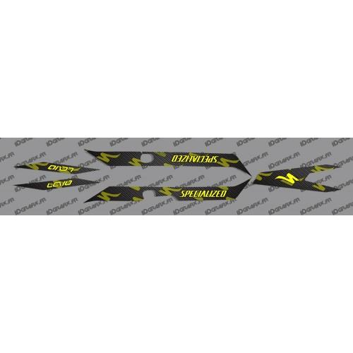 Kit deco CARBONI Edició, la Llum Groga Fluo)- Especialitzada Turbo Levo -idgrafix