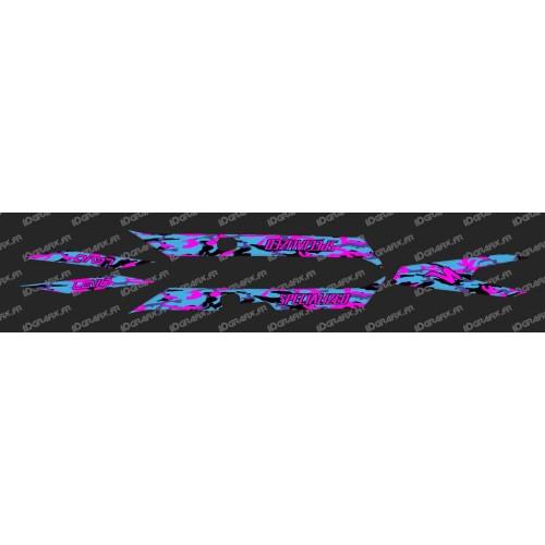 Kit deco CAMO BLUE Edition Light (Pink)- Specialized Turbo Levo - IDgrafix